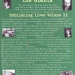 Obscure in the Shade of Giants (Publishing Lives Volume 2) by Jerome Gold